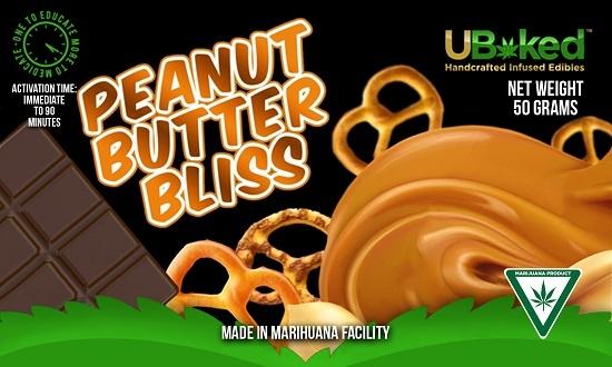 UBaked peanut butter bliss bar